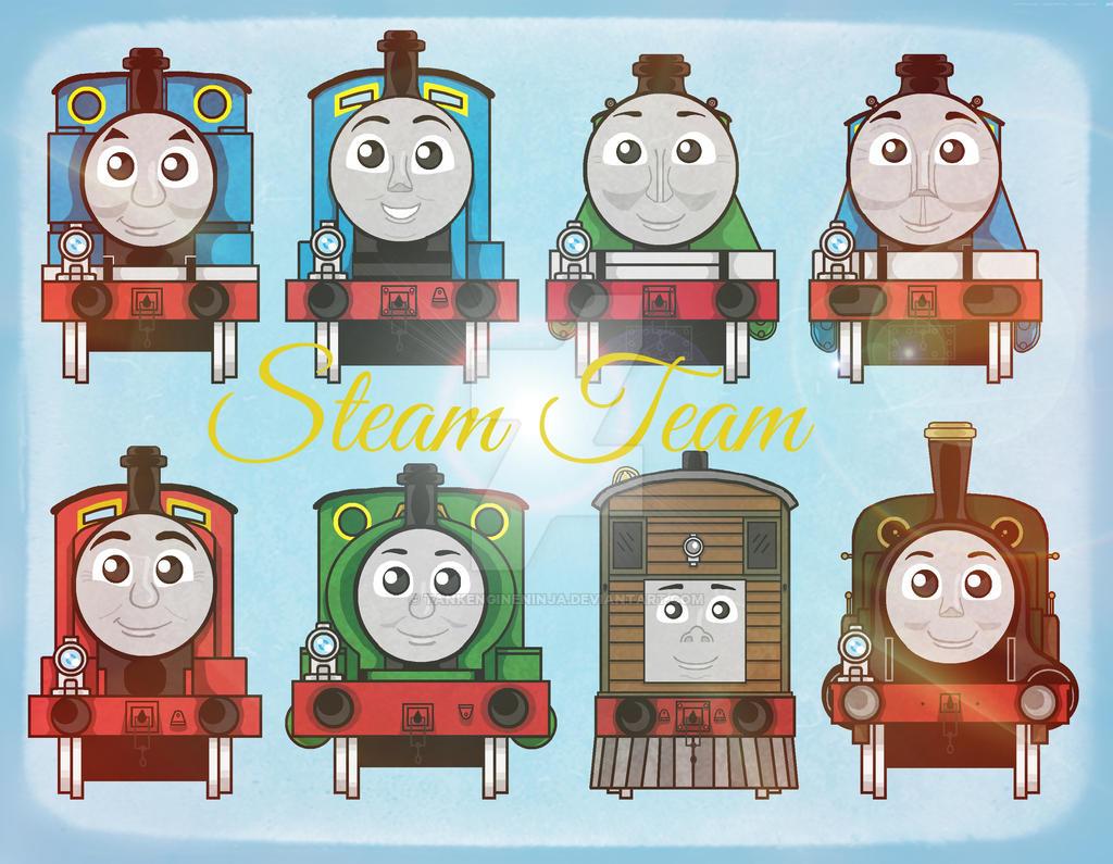 the original steam team - photo #17