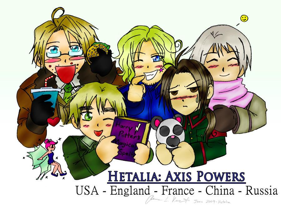 Hetalia - Allies by FrauV8