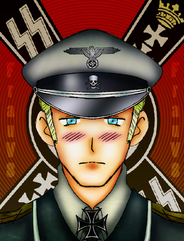APH - Reluctant Soldier by FrauV8