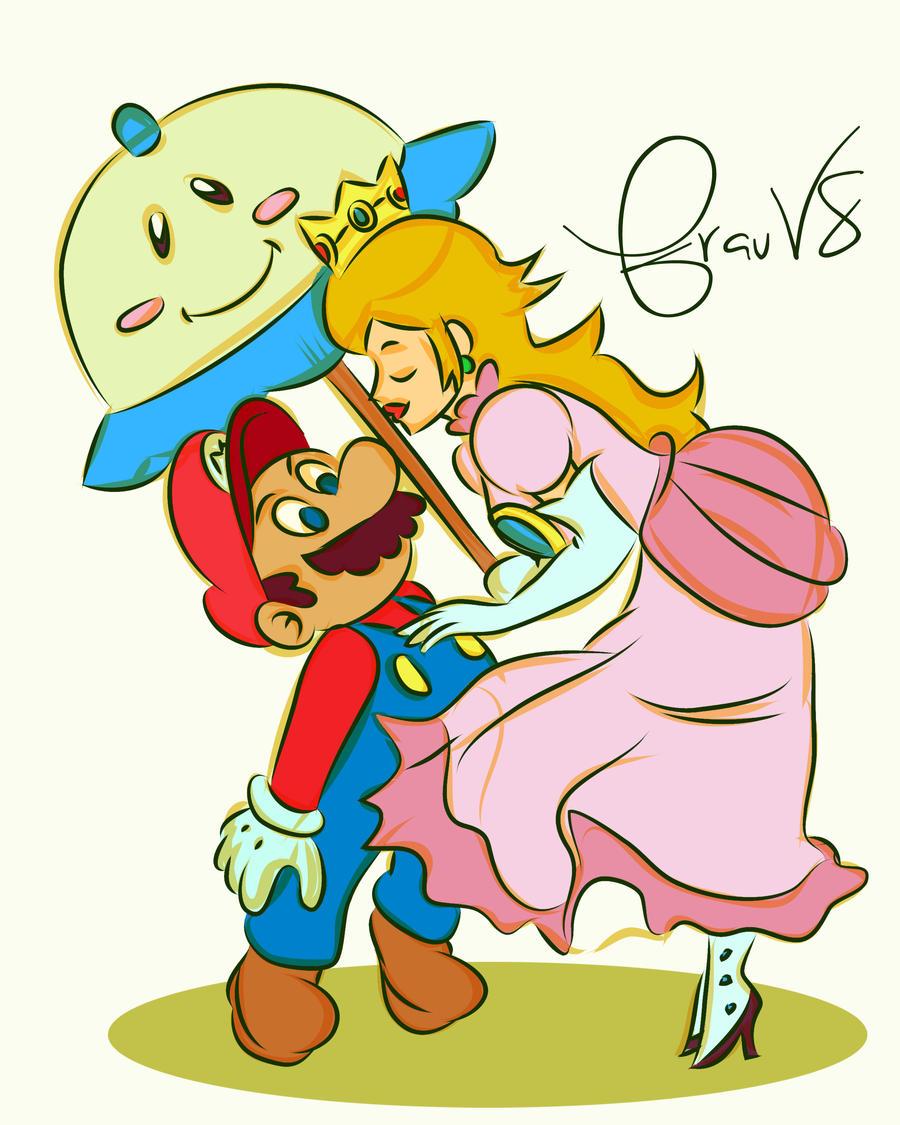 Princess Peach And Mario Doing It | www.imgkid.com - The ...