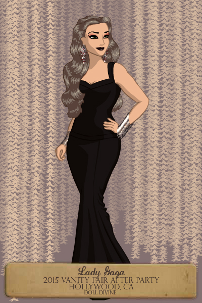 Lady Gaga Vanity Fair After Party by crane14