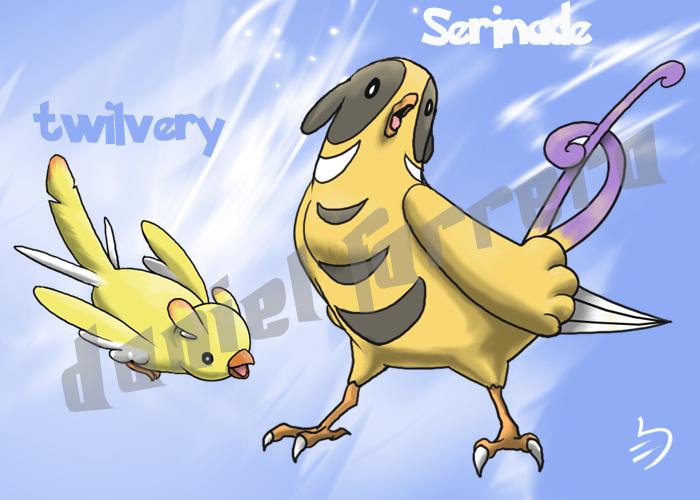 Canary Pokemon - 6th gen by farreer