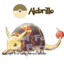 Armadillo pokemon - 5th gen
