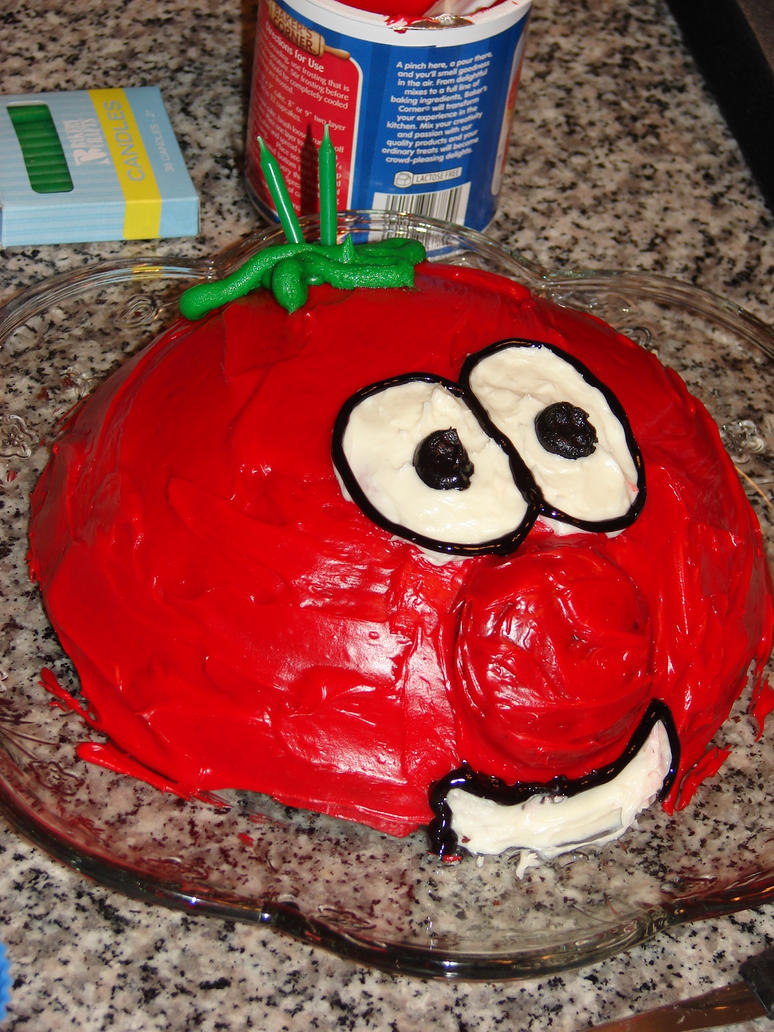 Bob The Tomato Cake By Carabadgermum On Deviantart