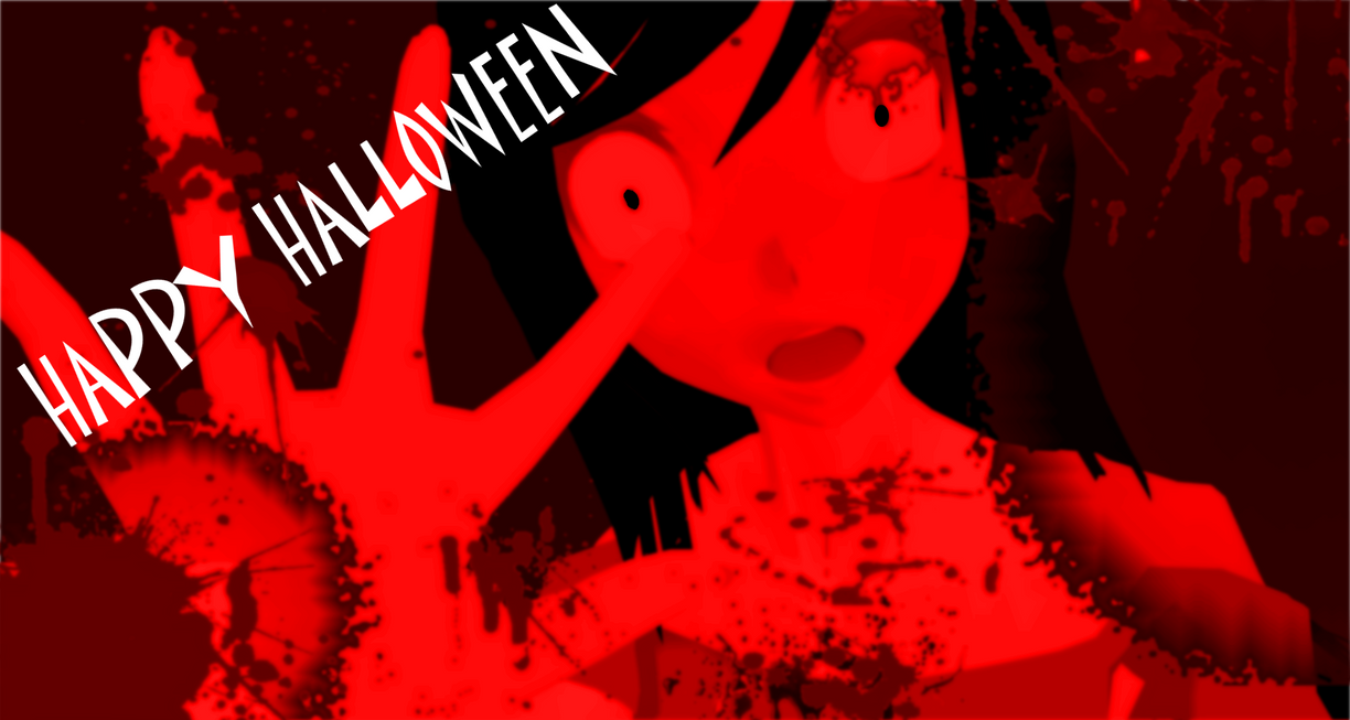 MMD Happy Halloween by Vocaloidfan33