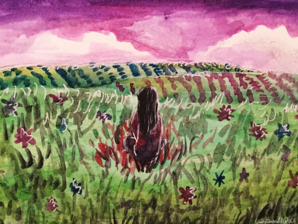 In My Field Of Paper Flowers By Lundyemerald On Deviantart