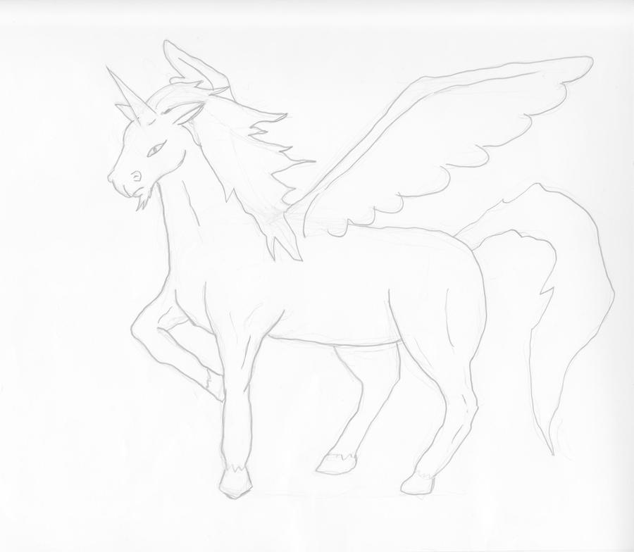 How To Draw Unicorn Wing