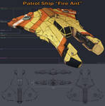 Fire Ant Patrol Ship