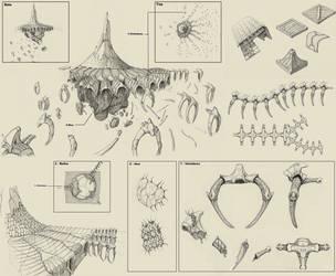 Alien Ruins Concept by Samize