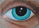 Sea Green and Sea Blue Eye