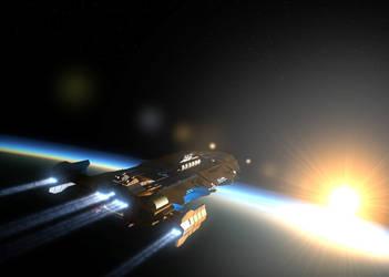 High orbit by Stormfactor