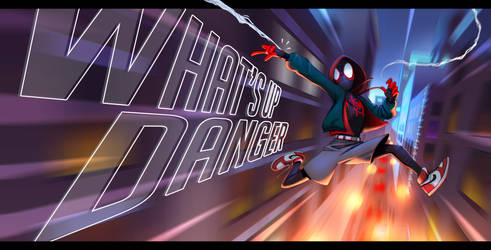 What's up Danger - Miles Morales by BuddySteel