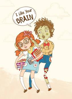 I like your brain