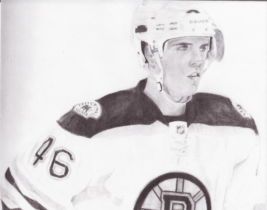 David Krejci by FootballHockeyPilot