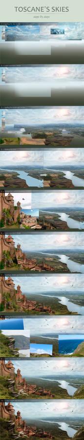 Steps by steps: Toscane