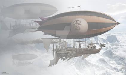 DRAGON SHIP MOUNTAIN