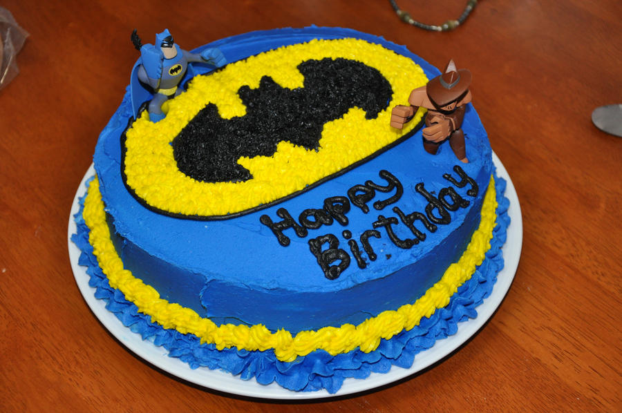 Batman Birthday Cake by cjraines on DeviantArt