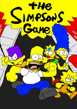 My Simpsons Game Poster