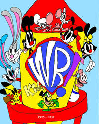 Kids WB tribute by WaggonerCartoons