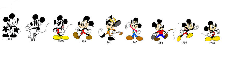 disneys animation evolution Thus, the villain has become a sensational character and a crucial part of any  walt disney animation film for one to examine the evolution and changes of the .