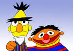 A Portrait of two Muppets