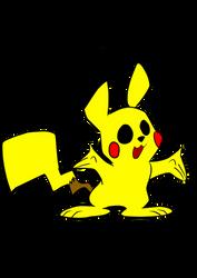 Pikachu by WaggonerCartoons