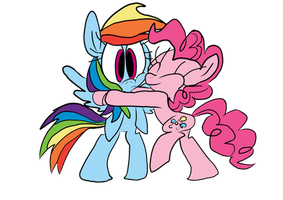 A Hug from Pinkie