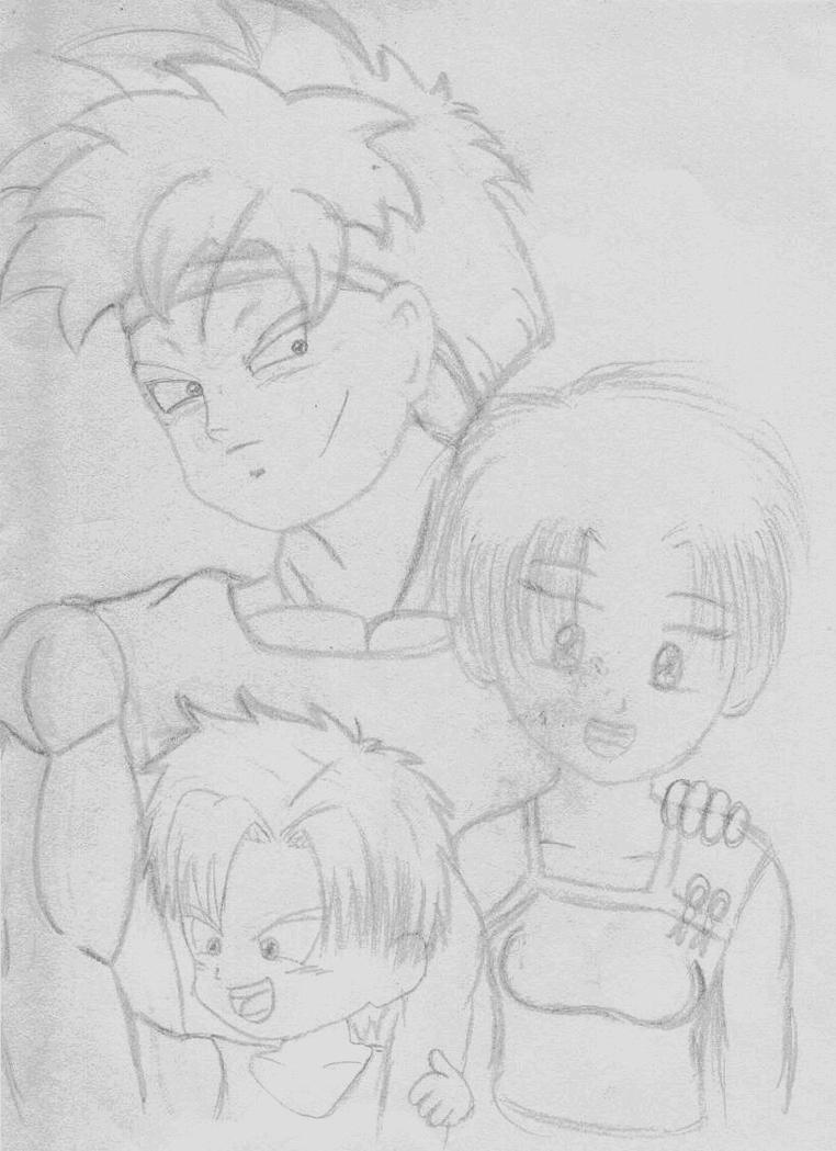 Michio's family by KuroiSenshi