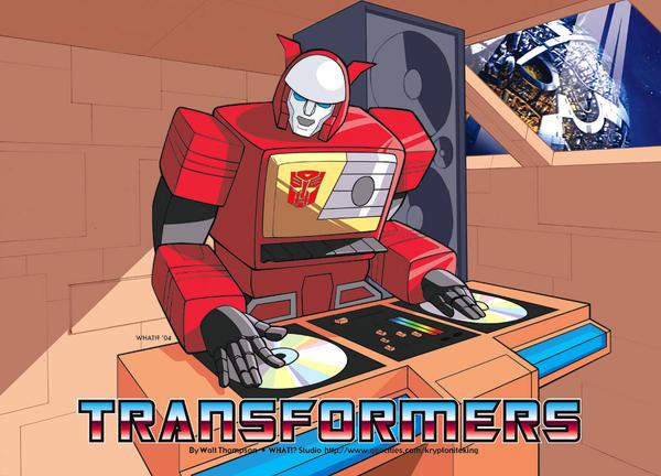 DJ Blaster by Kryptoniteking