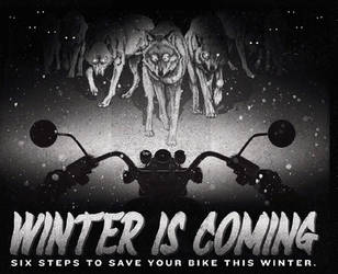 Winter Is Coming Ad Campaign by Kryptoniteking