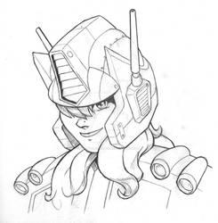 Heroic Robo-Girls Pencil
