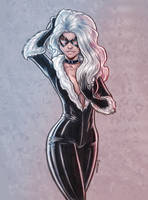 New black cat by belgerles