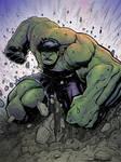 Hulk smash coloured