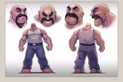 Character design (Wrath)