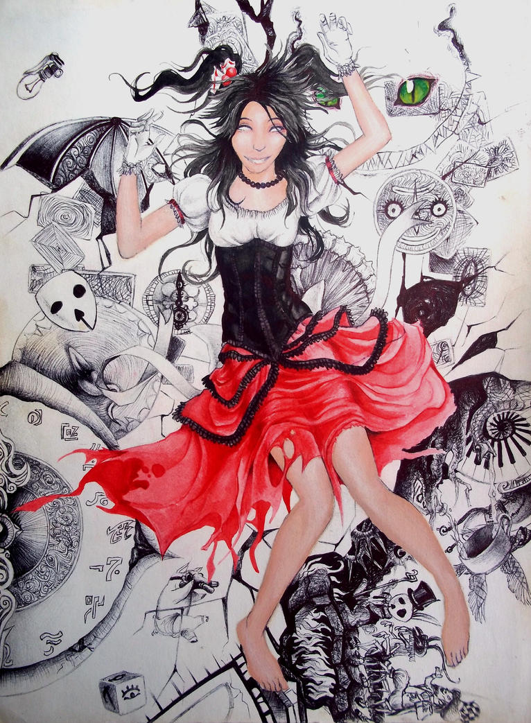Alice the Wonderful madhouse 21. Falling Madness by Rhafiel