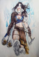 Dungeons and Dragons Character 4 by Rhafiel