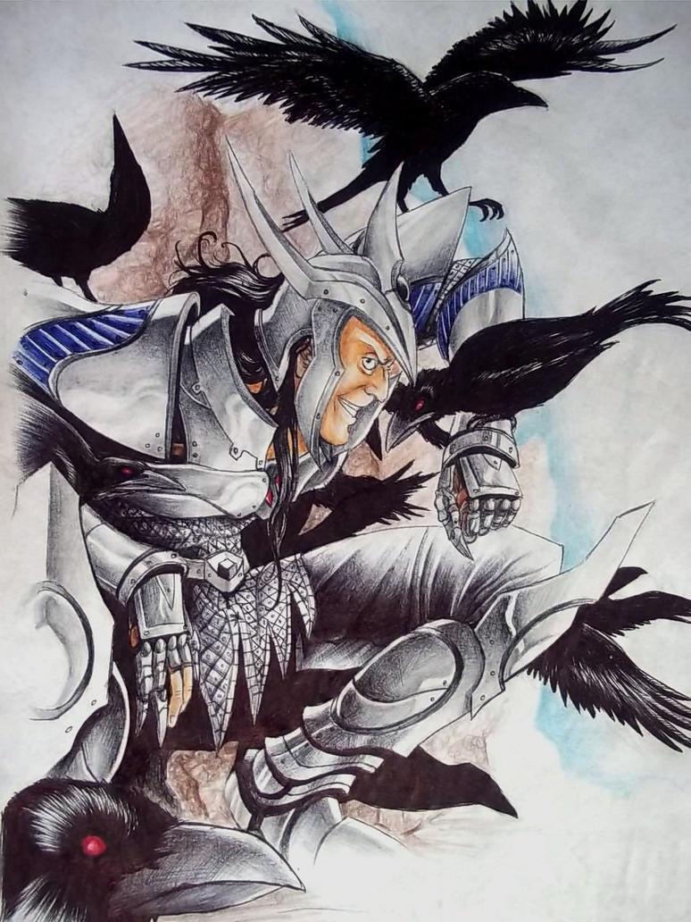 Corvus Jamian by Rhafiel
