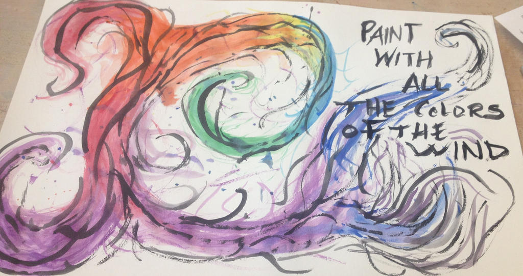 paint with all the colors of the wind by littleredridinghood4