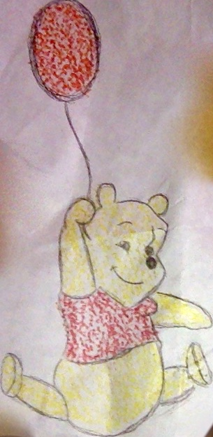 winnie the work doodle by littleredridinghood4