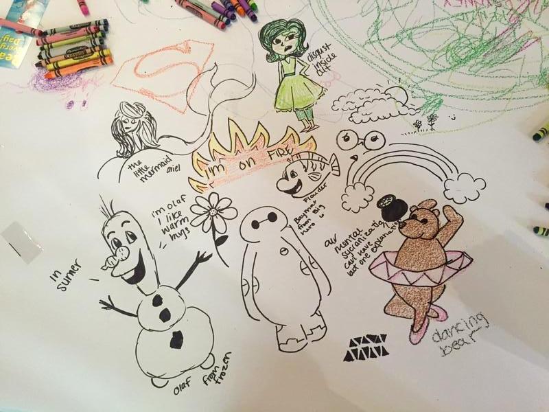 work doodle dump by littleredridinghood4