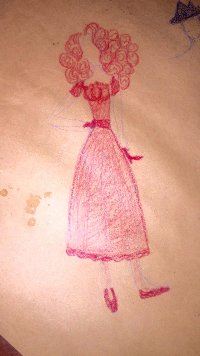 restaurant doodles by littleredridinghood4
