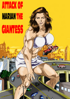 Attack of Marian the Giantess by MarianGTS