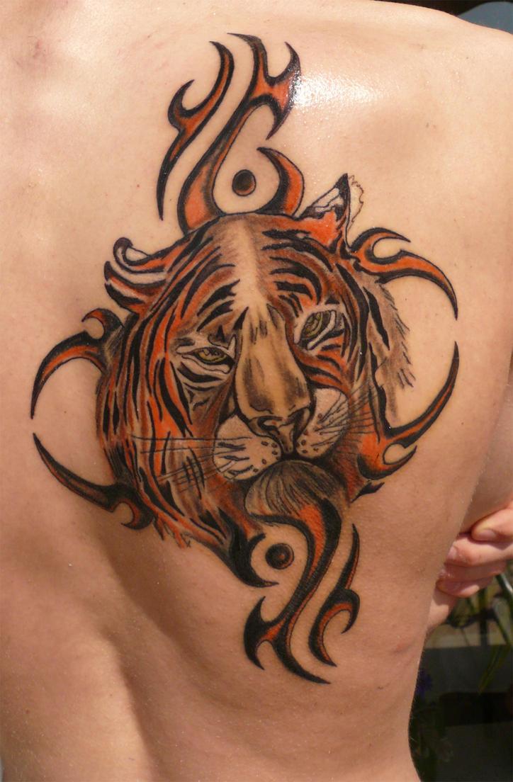Tribal Tattoo on Back