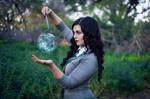 Casting Spells - Harry Potter Slytherin Cosplay