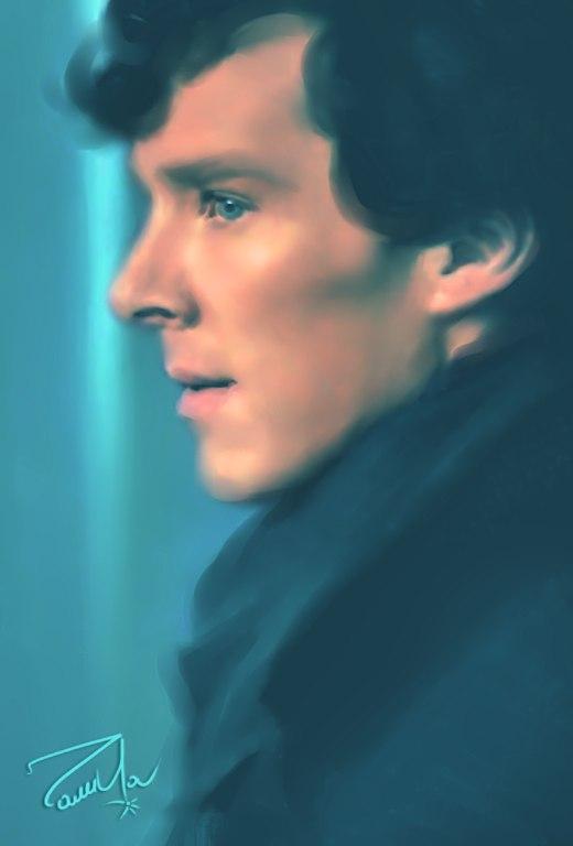 Benedict Cumberbatch / Sherlock by Roza777