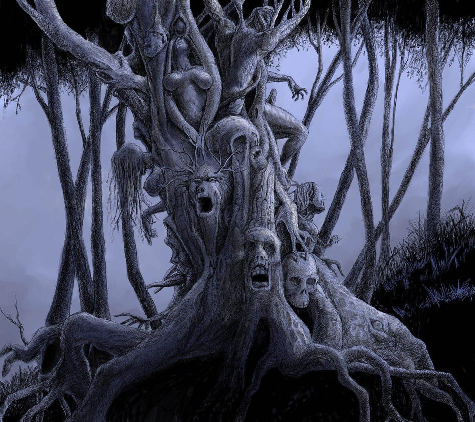 Tree of the damned by JEspadas