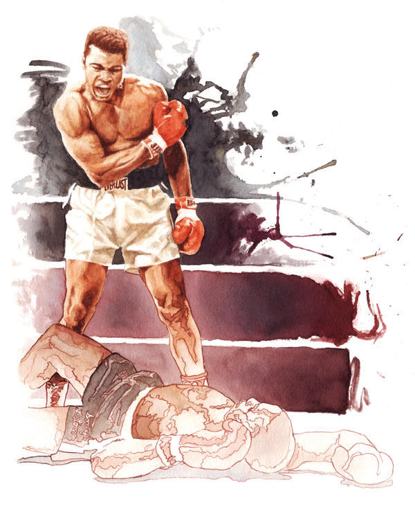 Ali Vs Liston 65 By Otrofco