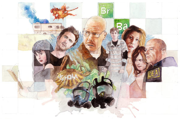 breaking bad by otrofco