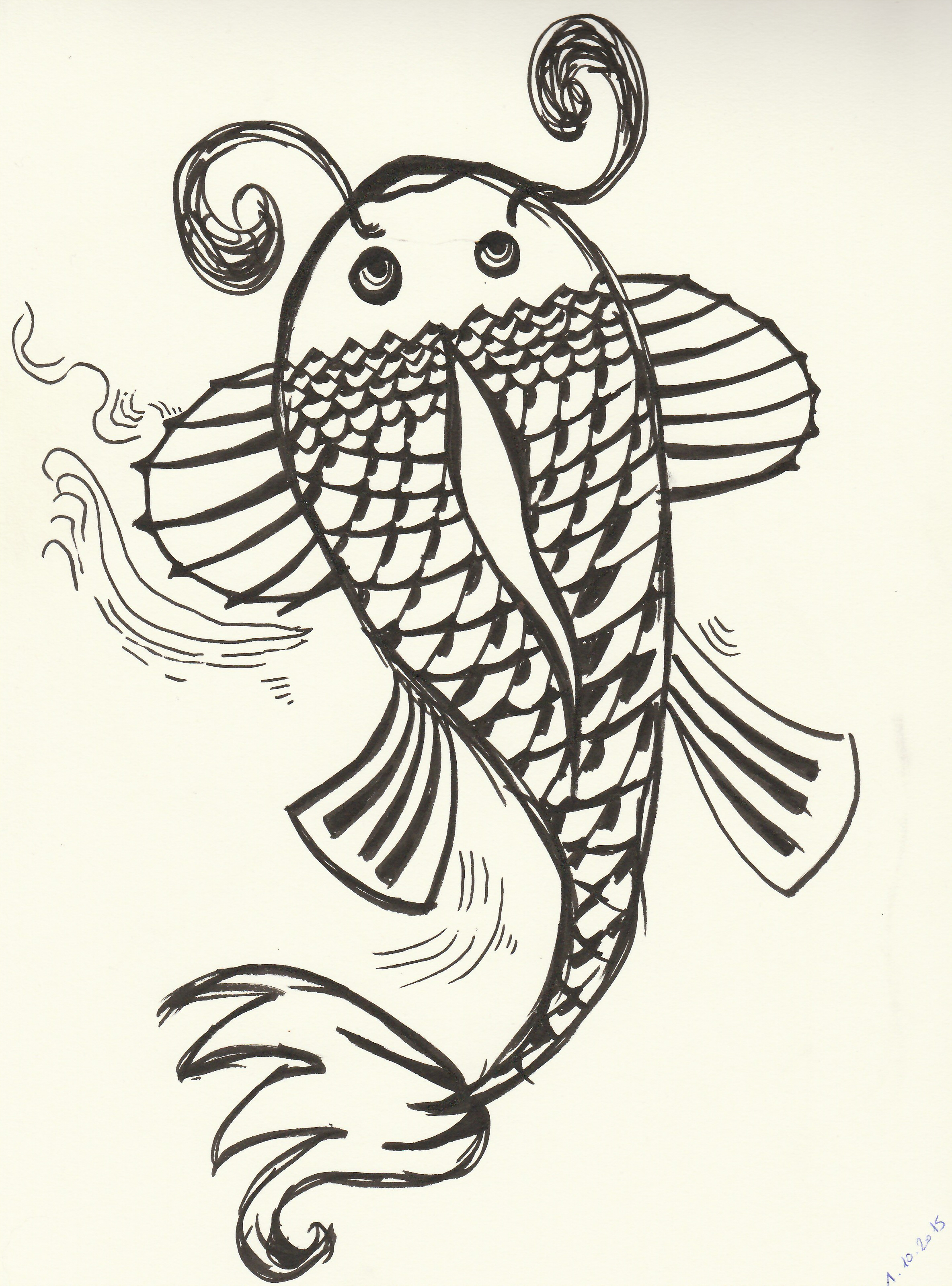Carpe koi by hytomichan on deviantart for Carpe koi b