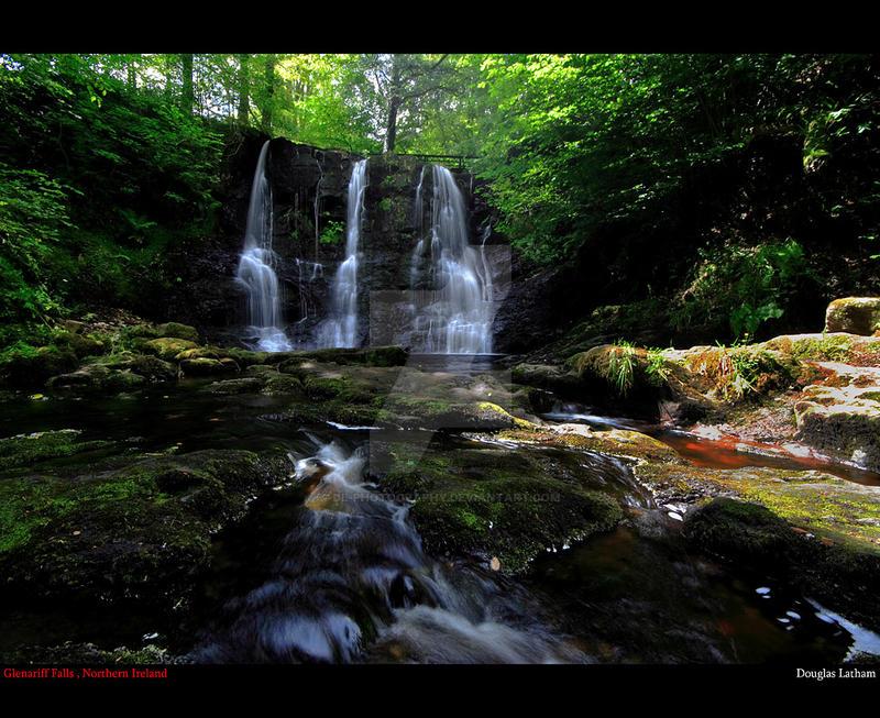 Glenariff Falls v2 by DL-Photography